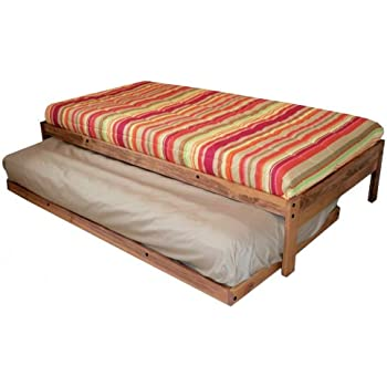 Amazon Com Santa Cruz Extra Long Twin Bed With Twin