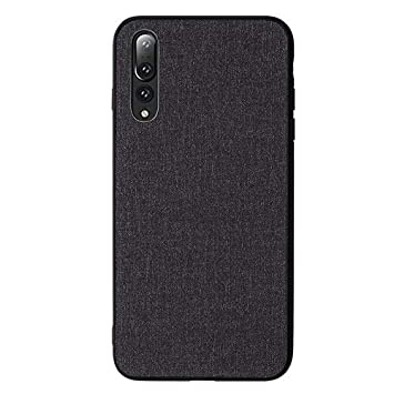 detailed pictures f7edc b836c HOMESTAYDD Huawei P20 Pro Case, Fabric Cloth Style 2 in: Amazon.co ...