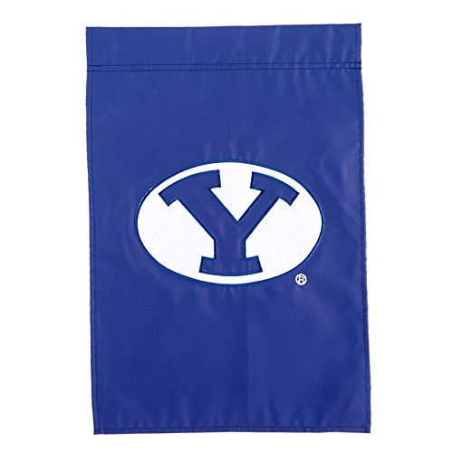- BYU Cougars Official NCAA 12.5 inch x 18 inch Applique Garden Flag by Evergreen