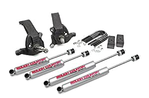 Rough Country - 528.20 - 3-inch Suspension Leveling Lift Kit w/ Premium N2.0 Shocks for Ford: 97-03 F150 2WD, 04-04 F150 Heritage 2WD