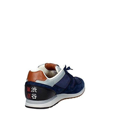 Tokyo Sneakers Blu Nautic Lotto Leggenda Uomo EU 42 Mesh Suede Shibuya Blu Ew8wO6q