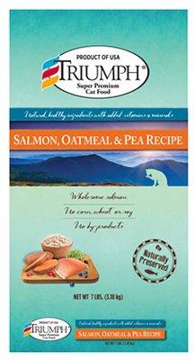 Triumph Triumph Salmon, Oatmeal, And Pea Cat Food 7 lbs.