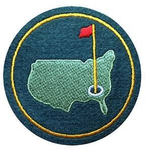 AUGUSTA US NATIONAL MASTERS PGA GOLF GREEN JACKET FELT PATCH 3 inches by Augusta ()