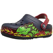 crocs Kids CrocsLights Fire Dragon Light-Up Clog (Infant/Toddler/Little Kid/Big Kid)