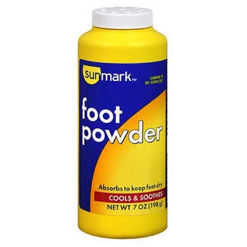 Sunmark Foot Powder - 7 oz by Sunmark