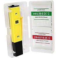 Digital pH Meter Water Hydroponics Pocket Pen Tester Aquarium Pond Pool Test