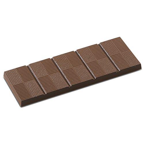 J.B. Prince K541 Lined 5 Section Chocolate Bar Mold by JB Prince