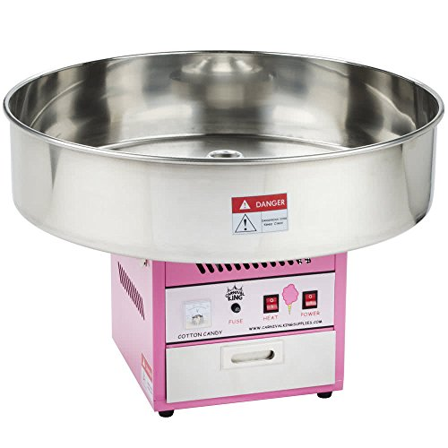 Tabletop King CCM28 Cotton Candy Machine with 28'' Stainless Steel Bowl - 110V by TableTop King