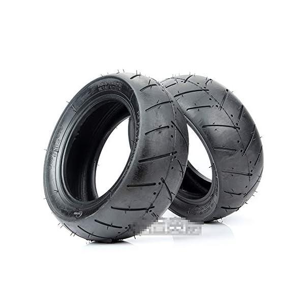 SUIBIAN Pneus de Scooter électrique, pneus à Vide 90/65-6.5/110/50-6.5, résistants à l'usure et antidérapants, adaptés…