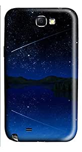Samsung Note 2 Case Shooting Star Sky661 3D Custom Samsung Note 2 Case Cover
