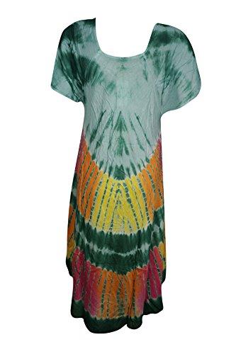 Blau Interior Multi M Mogul Kleid Damen blau Green Kimono xafCqwI