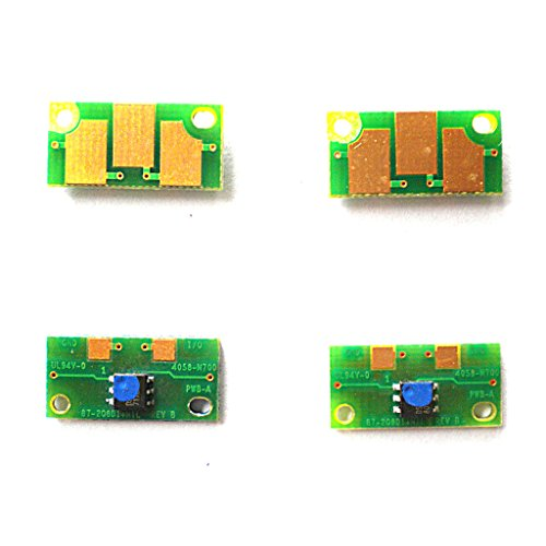 4pcs Drum Imaging Unit Reset Chip For Konica Minolta Magicolor 7400 7440 7450 (7450 Black Imaging Unit)