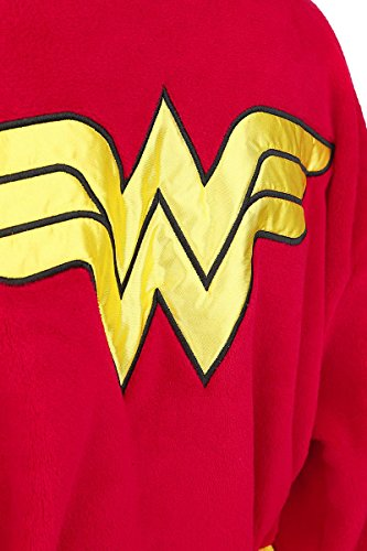 Wonder Woman Logo Bademantel multicolour one size