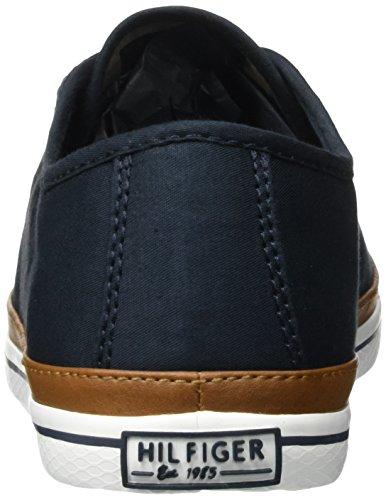 Tommy Hilfiger K1285esha 6d, Zapatillas para Mujer Azul (Midnight)