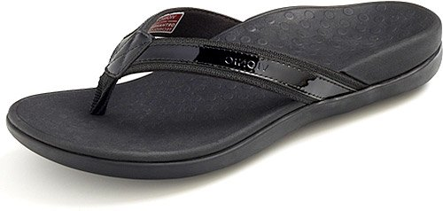 Vionic by Orthaheel Womens Tide II Sandal Black Size 9