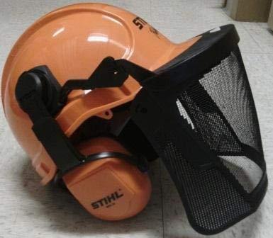 STIHL 7010 888 0800 Woodcutter Helmet System - Earmuffs Position