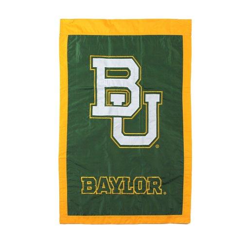 Baylor Bears Applique House Flag