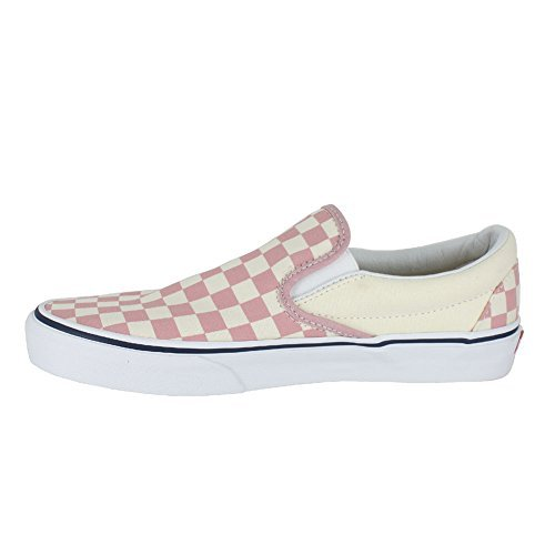 3d058b8f51 Vans Mono Classic Slip-on Checkerboard Zephyr Pink Sneakers Shoes 8.5 Mens  10 Womens