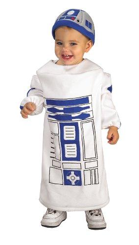 Morris Costumes Little Boys R2D2 Costume, 12-24