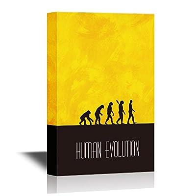 Marvelous Work of Art, Human Evoluti Human Evolution Process, That's 100% USA Made
