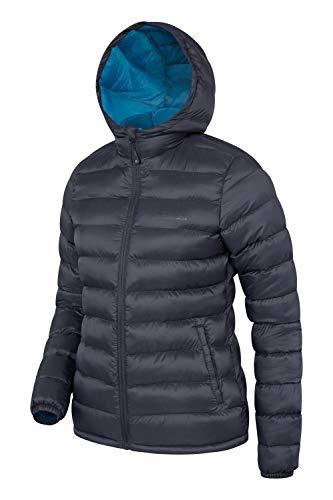 Frontali Seasons Vacanze All'acqua Giacca Fredde Tasche Imbottita Ideale Donna Nero Per Invernale Mountain Resistente Warehouse 5zqO0nR