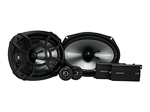 Kicker 43CSS694 CSS69 6x9-Inch Component System with .75-Inch tweeters, 4-Ohm