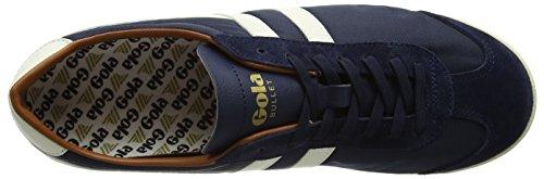Blu Nylon Sneaker Gola Orange Navy Ecru Uomo Bullet ETIEw5xq6