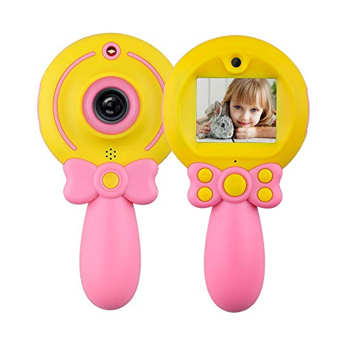 Toy for 4-12 Year Old Boys Kids,Digital Camera Gifts for 5-11 Year Old Girls Children Video Toys Gift Age 5 7 9 11 Boy Girl Kid Birthday Present Party Gift for 6-13 Year Old Girls Kid Pink Camera Toy (Best Camera For 13 Year Old)