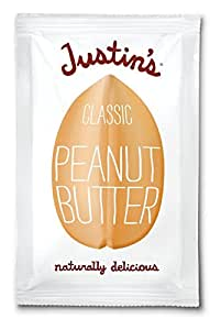 Justin's Nut Butter Classic Peanut Butter, Squeeze Packs, 1.15 oz, 30 ct