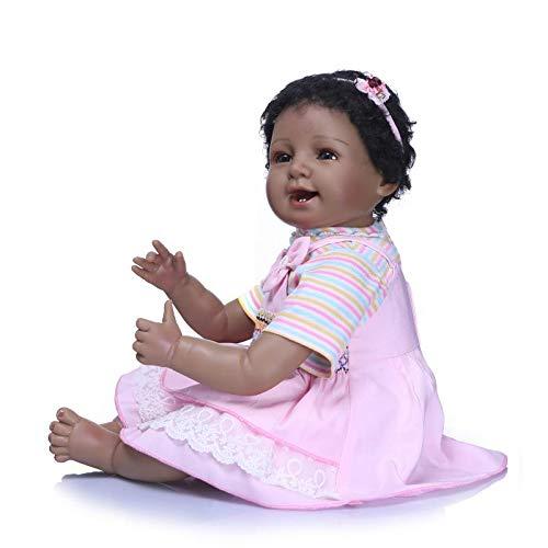 Amazon.com: Muñeca Angelbaby reborn africana americana negra ...