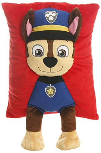 Paw-Patrol-Chase-Decorative-Pillow-NavyRed