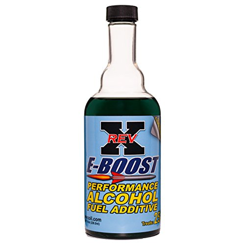 REV-X E-Boost E85 & Alcohol Fuel Additive - 8 fl. oz Treats 25 Gallons by REV-X