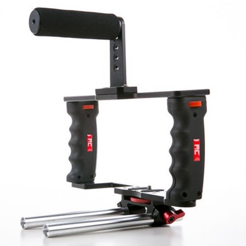Authentic PNC P&C DSLR Camera GearBox GB-3 Video Accessory Cage w/ 15mm Rod (Cage Pnc)