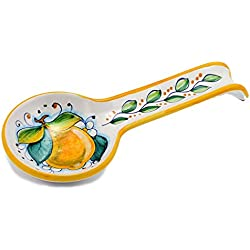 DERUTA: Spoon rest LEMON (also wall hung) [#7010/C-SEG]