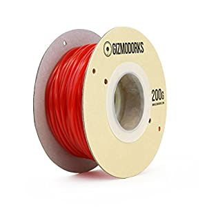 Gizmo Dorks TPU Filament 1.75mm 200g, Multiple Colors from Gizmo Dorks