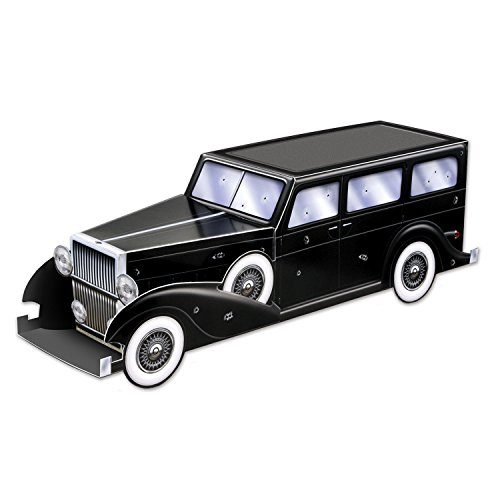 Beistle 54466 Gangster Car Centerpiece, 12