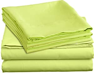 Lime Green Cotton Sheets