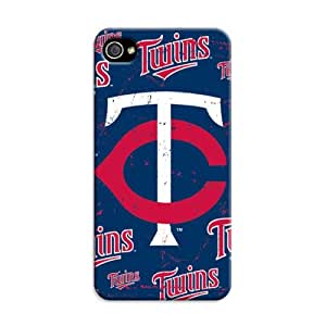 US MLB Minnesota Twins Protection Phone Case Cover Shell for Iphone 4/4S