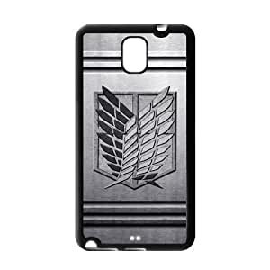 Fashion Attack on Titan Protective Hard Durable Rubber Coated Case Cover for Samsung Galaxy Note 3