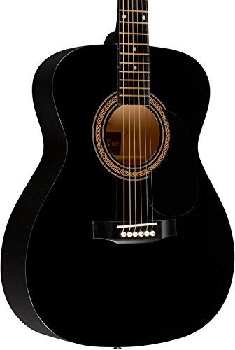 (Rogue RA-090 Concert Acoustic Guitar Black)