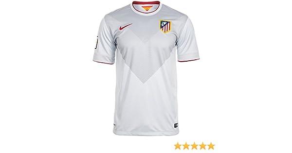 NIKE Atlético De Madrid C.F. - Camiseta para Hombre, Color Blanco/Gris/Rojo, Talla XL: Amazon.es: Zapatos y complementos