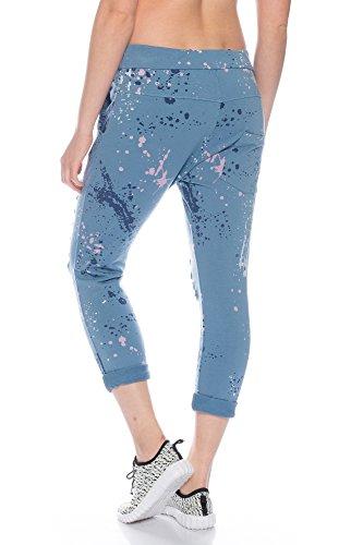 Fashionflash - Pantalón - Pantalones - para mujer Azul