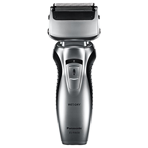 Panasonic ES-RW30-S Dual-Blade Electric Razor, Cordless, Wet or Dry Operation