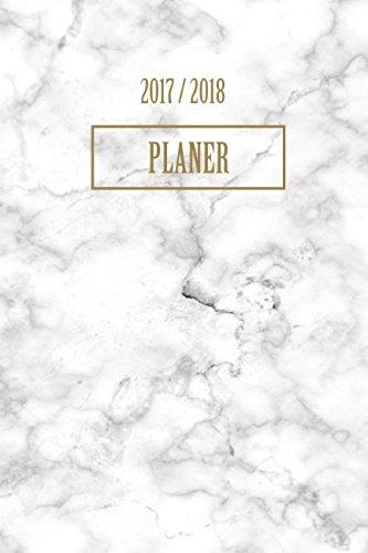 Planer 2017 2018: A5 Taschenplaner und Taschenkalender Wochenkalender fr das gesamte Jahr Kalender 2017 2018 (German Edition)