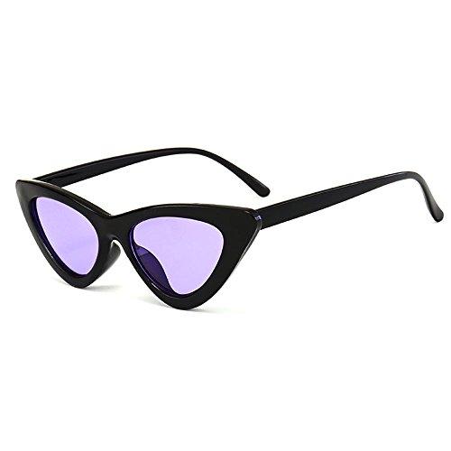 Fdrirect Unisex Womens Mens Retro Vintage Cat Eye Round Glasses Fashion Sunglasses New - Sunglasses Au