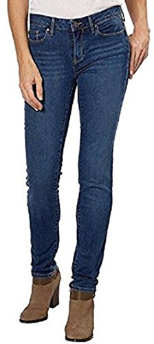 Calvin Klein Denim Belt (Calvin Klein Womens Fashion Ultimate Skinny Stretch Slim Fit Low Rise Denim Jean (8x32, Ocean Blue))