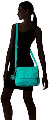 d27f89bdd Kipling Aisling Solid Crossbody Bag Convertible Cross Body,Brilliant  Jade,One Size