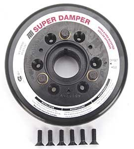 ATI Performance 917740 SFI 18.1 Super Damper Balancer - BBC 7'' Dia - 454 Balance by ATI Performance Products