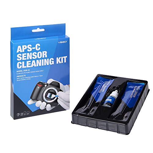 how to clean digital camera sensor