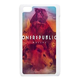 One Republic Native iPod Touch 4 Case White Exquisite gift (SA_456459)